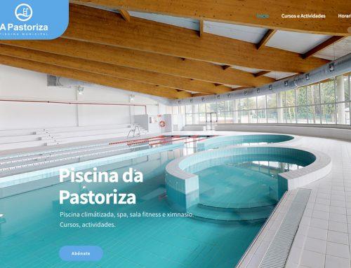 Inaguración da web da piscina